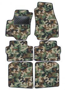 Maskačové textilní koberce pre Opel Zafira B 2005-2011  4ks