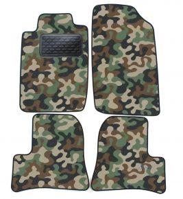 Maskačové textilní koberce pre Peugeot 206 , 206+ 1998-2005 4ks