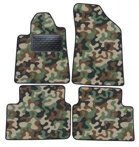 Maskačové textilní koberce pre Peugeot 407 2004-2011 4ks