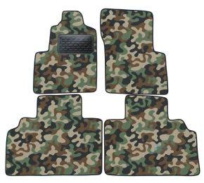 Maskačové textilní koberce pre Renault Espace 2000-2003  4ks
