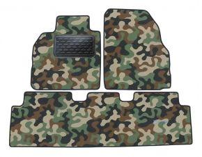 Maskačové textilní koberce pre Renault Magene Scenic 2004-up 4ks