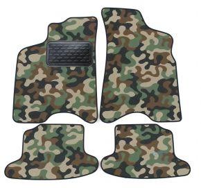 Maskačové textilní koberce pre Seat Arosa 1997-2005 4ks