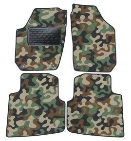 Maskačové textilní koberce pre Skoda Roomster 2006-2015 4ks