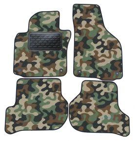 Maskačové textilní koberce pre Skoda Octavia II /GOLF V/ GOLF VI /JETTA