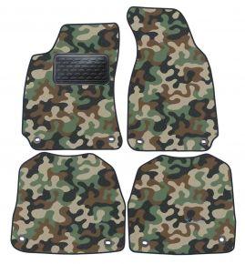 Maskačové textilní koberce pre Skoda Super B 2002-2008 4ks