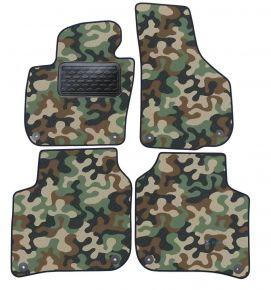 Maskačové textilní koberce pre Skoda Super B 2008-2015 4ks