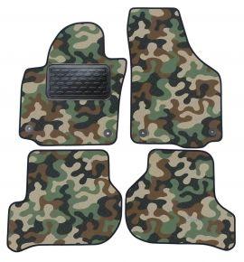 Maskačové textilní koberce pre Skoda Yeti / Golf 5 Plus