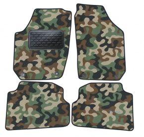 Maskačové textilní koberce pre Skoda Fabia II 2007-2014