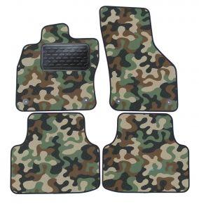 Maskačové textilní koberce pre Skoda Octavia III  2013-up  4ks