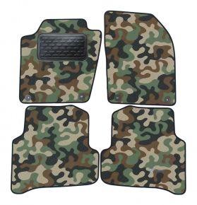 Maskačové textilní koberce pre Skoda Fabia III 2014 -up  4ks