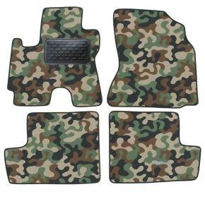 Maskačové textilní koberce pre Toyota RAV-4 2004-2012 4ks
