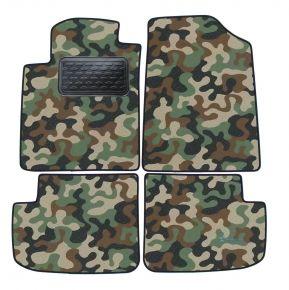 Maskačové textilní koberce pre Toyota Yaris 5D 1998-2005 4ks
