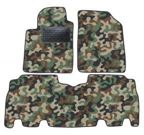 Maskačové textilní koberce pre Toyota Yaris Verso 1999 -2006 4ks