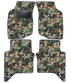 Maskačové textilní koberce pre Toyota Hilux 2006-2011 4ks