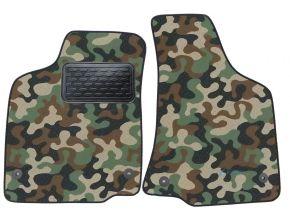 Maskačové textilní koberce pre Volkswagen Caddy 1998-2003 4ks