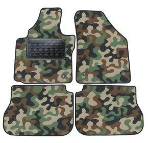 Maskačové textilní koberce pre Volkswagen Caddy 2003-up  4ks