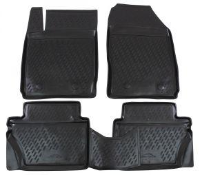 Gumové autokoberce FORD Fiesta 2008-2011  4 ks