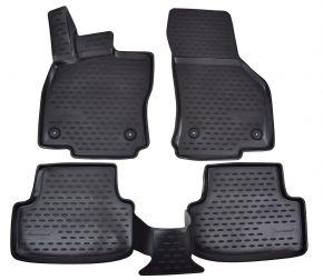 Gumové autokoberce SEAT Leon  2012-up  4 ks
