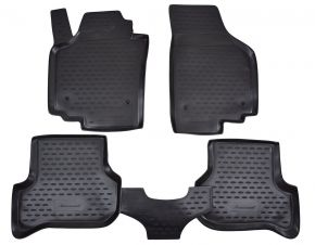 Gumové autokoberce SEAT Altea 2005-2009   4 ks