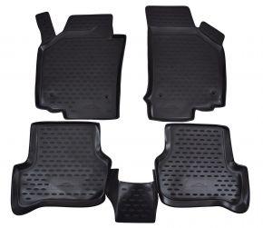 Gumové autokoberce SEAT Leon 2006-2012  4 ks