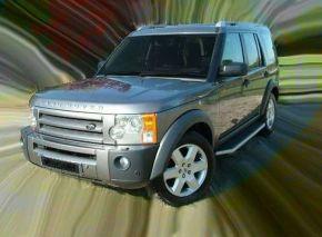 Boční nášlapy pro Land Rover Discovery 3/4 OE Style 2005-2016