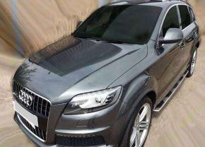 Boční nášlapy pro Audi Q7 2006-2014
