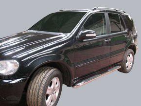 Boční nerezové rámy pro Mercedes ML-Class W163 1998-2005 5D.