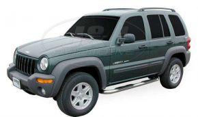 Boční nerezové rámy pro Jeep Cherokee