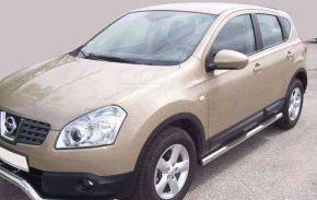 Boční nerezové rámy pro Nissan Qashqai 2007-2013