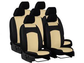 Autopotahy na míru Koža AUDI Q7 II 7m. (2015-2020)
