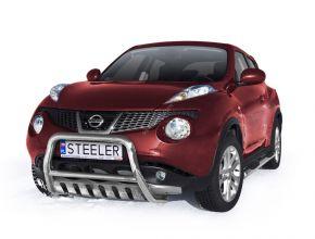 Přední rámy Steeler pro Nissan Juke 2010- up Typ S