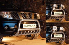 Přední rámy Steeler pro Nissan Navara 2005-2010 Typ G