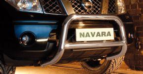Přední rámy Steeler pro Nissan Navara 2005-2010 Typ A