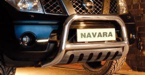 Přední rámy Steeler pro Nissan Navara 2005-2010 Typ S