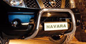Přední rámy Steeler pro Nissan Navara 2010-2015 Typ U