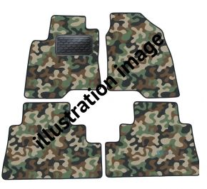 Maskačové textilní koberce pre Audi A3  8L 1996-2003 4ks