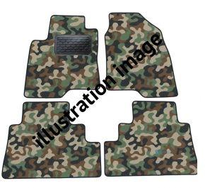 Maskačové textilní koberce pre Audi Q7 5d 2006-2014 4ks