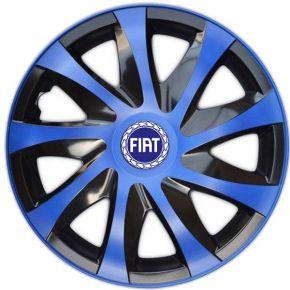 "Poklice pro FIAT BLUE 15"", DRACO MODRÉ 4ks"