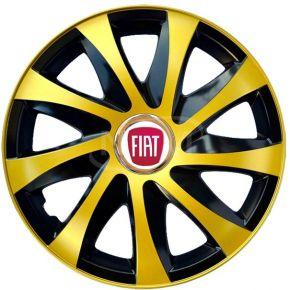 "Poklice pro FIAT 14"", DRIFT EXTRA zlaté 4ks"