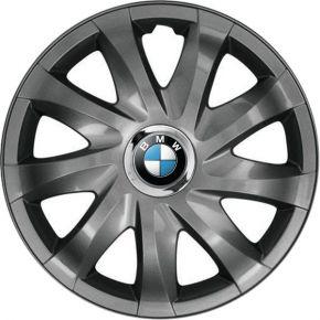 """Poklice pro BMW 14"""", DRIFT GRAFITOVÉ LAKOVANÉ 4ks"""