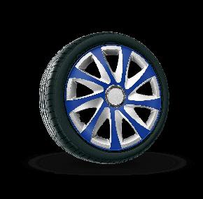 "Poklice pro ALFA ROMEO 16"", DRIFT EXTRA modro-stříbrné  4ks"