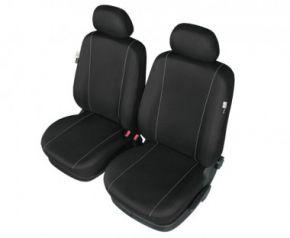 Autopotahy HERMAN na přední sedačky černe Fiat Idea Přizpůsobené potahy