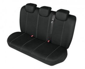 Autopotahy HERMAN na zadní nedělenou sedačku černe Dacia Dokker Přizpůsobené potahy