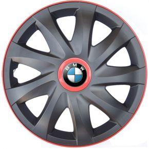 """Poklice pro BMW 14"""", KANDO RACE červené 4ks"""