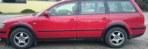Plastové lemy pro VOLKSWAGEN VW PASSAT B5 SEDAN 1996-2000
