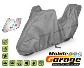 PLACHTA NA motocykl MOBILE GARAGE D. 215-240 cm + kufr