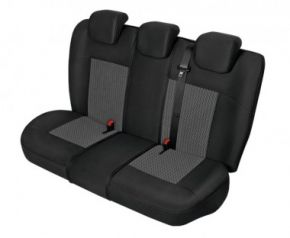 Autopotahy PERUN na zadní nedělenou sedačku Fiat Idea Přizpůsobené potahy
