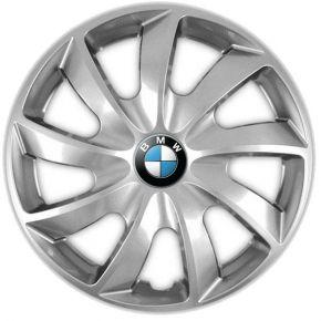 """Poklice pro BMW 14"""", QUAD ŠEDÉ 4ks"""