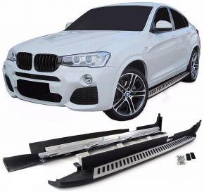 Boční nášlapy pro BMW X4 F26 2014-2018