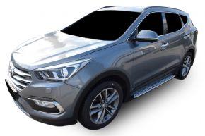 Boční nášlapy pro Hyundai Santa Fe 2013-2018